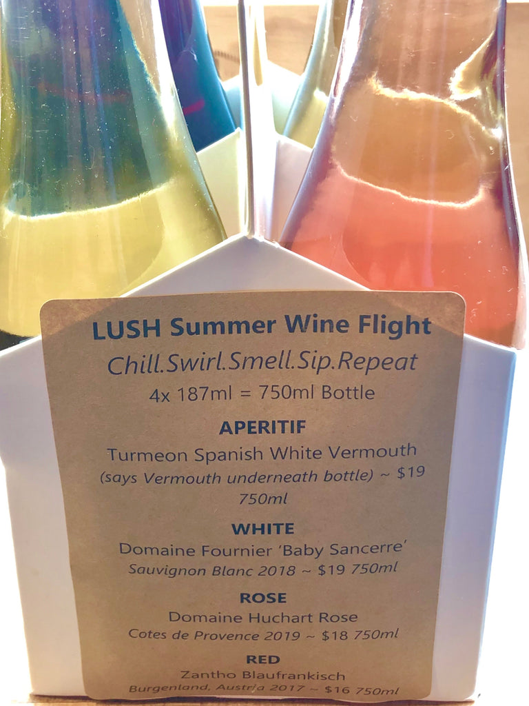 Summer Wine Flight 4 x 187ml