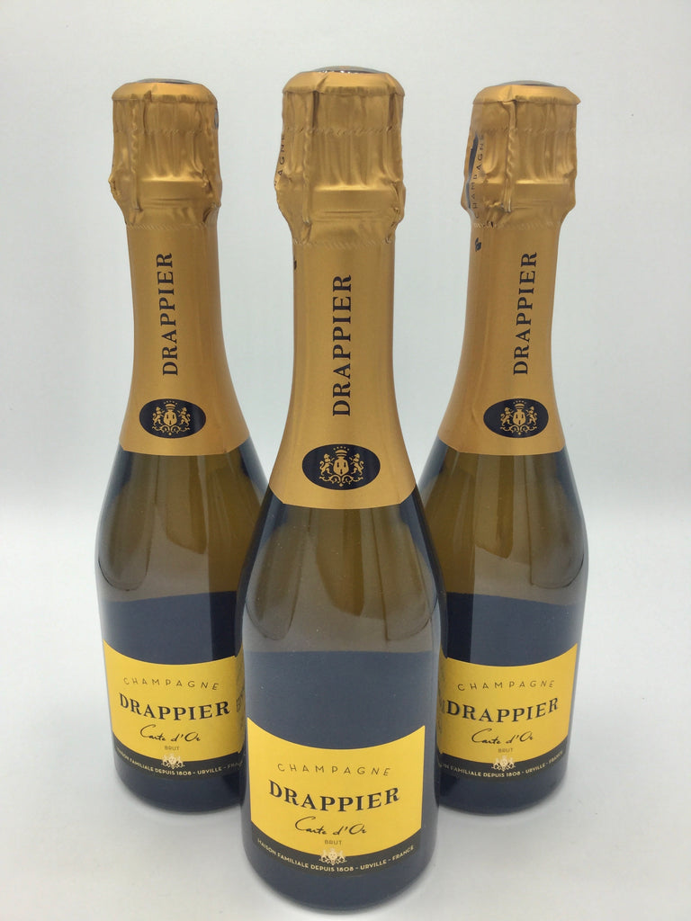 CHAMPAGNE DRAPPIER CARTE D'OR BRUT 375ML