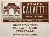 Calvetti Black Angus Peppercorn Crusted, Smoked 5oz Filet Mignon