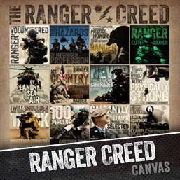 The Ranger Creed in Picture