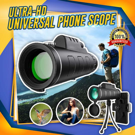 ULTRA-HD UNIVERSAL PHONE SCOPE