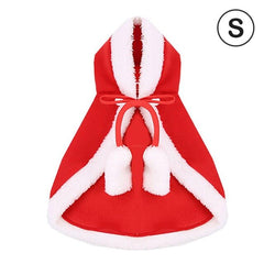 Pet Christmas Costume Cape