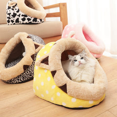 Pet Cat Bed Indoor Kitten House