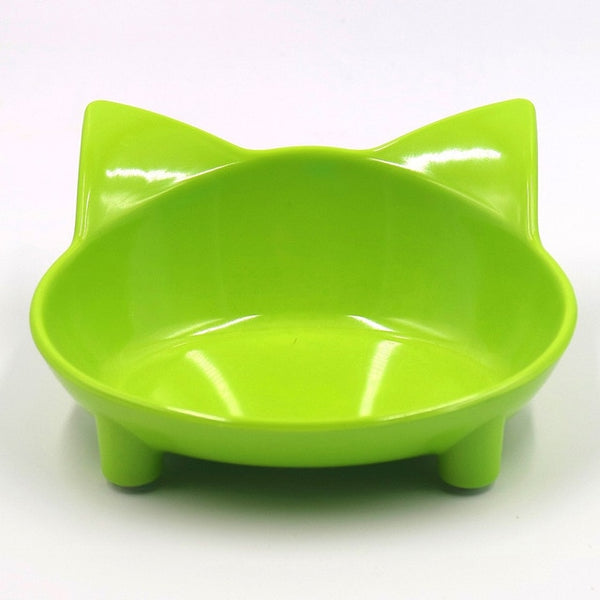 Shallow Cat Food Bowl