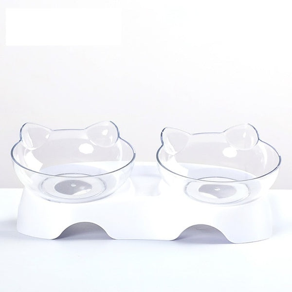 Plastic Double Pet Bowl
