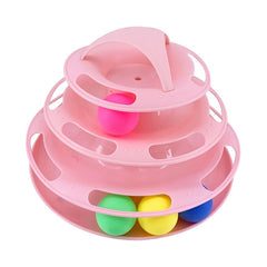 3 Levels Pet Cat Toy Funny Tower