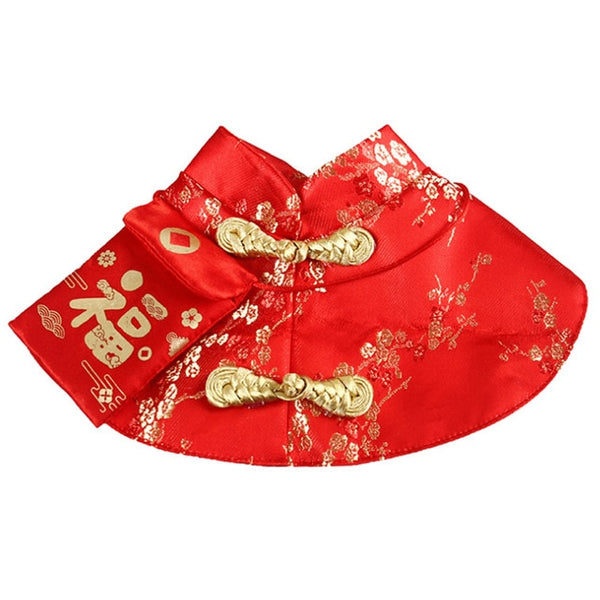 Pet Cat New Year Cloak Clothes