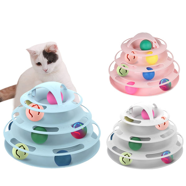 Cat Toys Interactive Track Ball