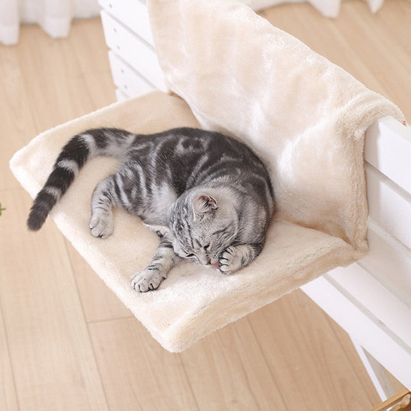 Cat Bed Removable Window