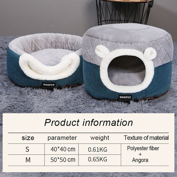 Hoopet Pet Cat Basket Bed