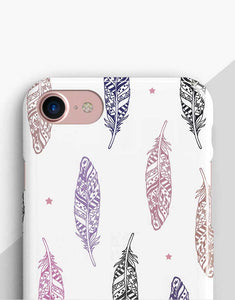 Pastel Feathers Classic Case