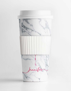 Custom Name Flamingo Tumbler