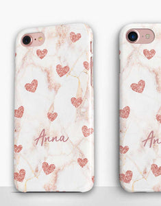 Custom Name Heart Classic Case