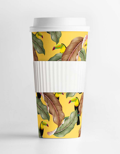 Custom Name Toucan Tumbler