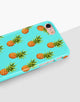 Pineapple Bright Blue Classic Case