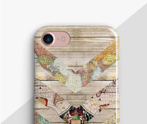 Map Wood Classic Case