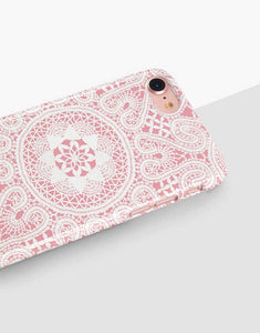 Pink Lace Classic Case