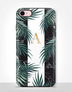Custom Name Palm Leaves Tough Case