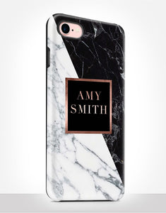 Custom Name Elegant Marble Tough Case