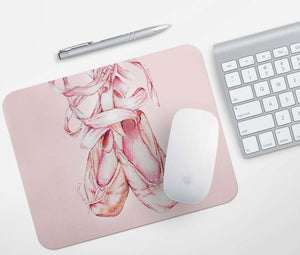 Ballet Shoes Mouse Pad