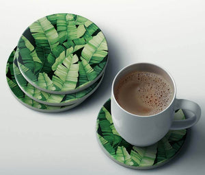 Banana Leaves Coaster
