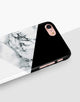 Black And White Marble Mix Classic Case