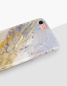 Yellow Marble Classic Case