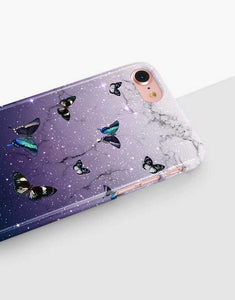 Purple Butterly Classic Case