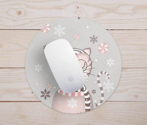 Candy Cat Mouse Pad
