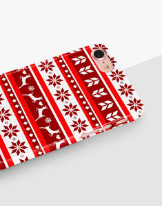 Red Christmas Nordic Classic Case
