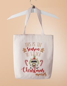 Christmas Movies Tote Bag