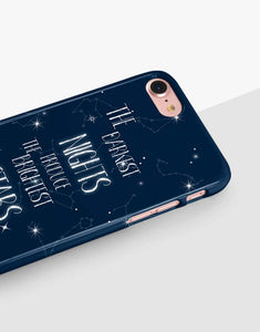 The Darkest Nights Produce The Brightest Stars Classic Case