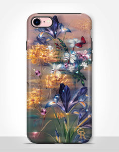 Diamond  Flowers Tough Case