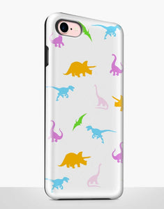 Colorful Dinosaurs Tough Case
