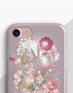 Lilac Pastel Flowers Classic Case