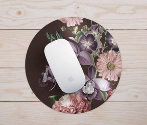 Autumn Floral Mouse Pad