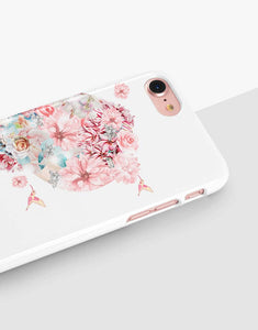 Floral Heart Couple Cases