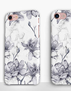 Floral Marble Classic Case