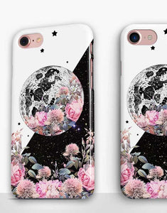 Floral Moon Classic Case