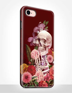Floral Skeleton Tough Case