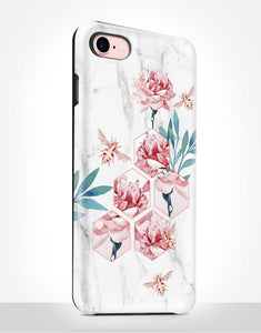 Floral Bees Tough Case