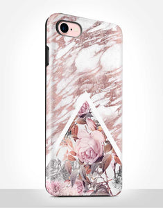 Rose Gold Roses Tough Case