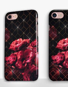 Ruby Flowers Classic Case