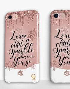 Leave a Little Sparkle....Christmas Classic Case