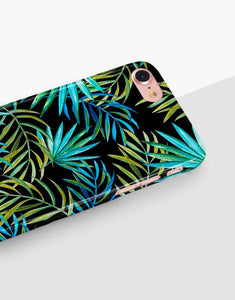 Tropical Palm Leaves Classic Case