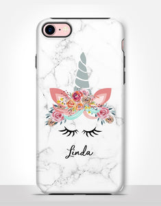 Custom Name Unicorn Tough Case