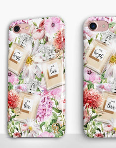 Floral Perfume Classic Case