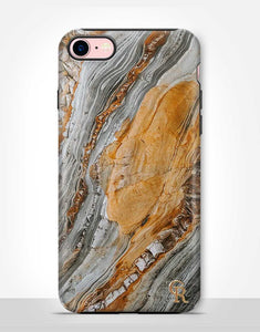 Grey and Brown Marble Tough Case