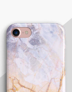 Custom Name Lilac Marble Classic Case