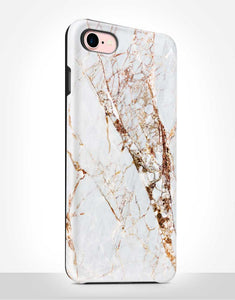 Golden Marble Tough Case